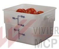 Ensemble de boîtes à provision en polypropylène
