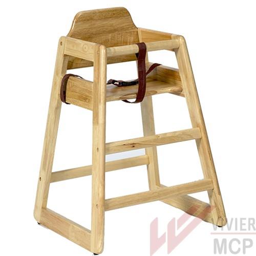chaise haute pour restaurant en bois vivier mcp. Black Bedroom Furniture Sets. Home Design Ideas