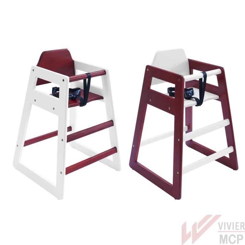 chaise haute enfant en bois pour chr chaise haute professionnelle en bois pour enfant vivier mcp. Black Bedroom Furniture Sets. Home Design Ideas