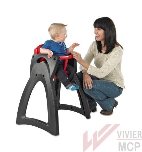 Chaise haute enfant légère Vivier MCP