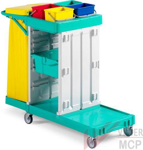 Chariot de maintenance avec tiroir central sans porte