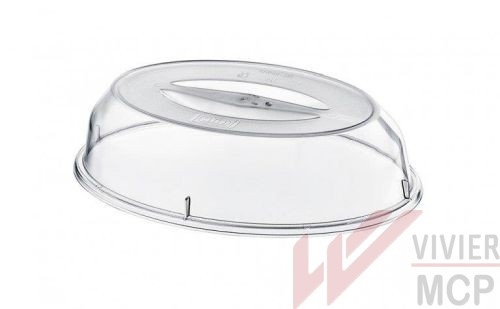 Cloche basse pour assiette ovale