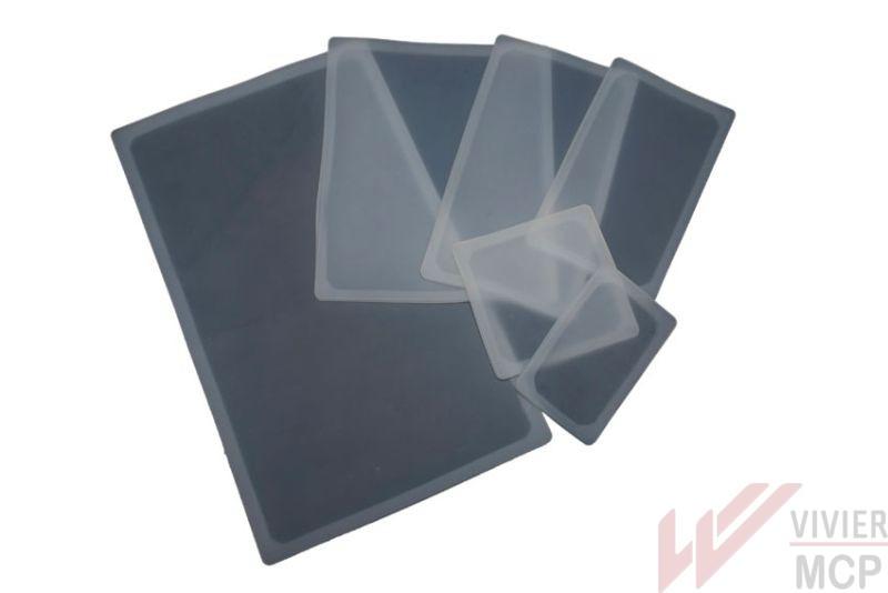 Couvercle réutilisable en silicone sur bac gastro