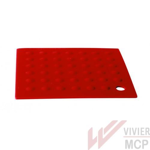 Dessous de plat carré en silicone