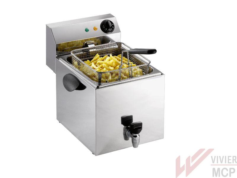 Friteuse électrique de 8 litres