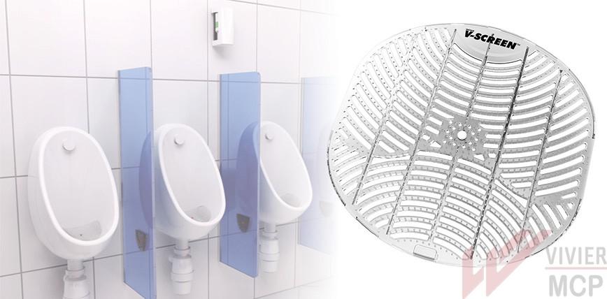 Grille d'urinoir écologique et économique
