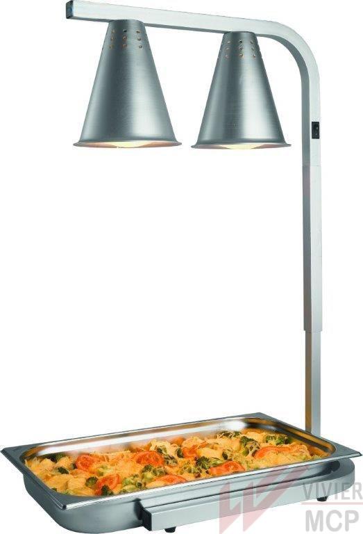 Lampe chauffante infrarouge pour cuisine
