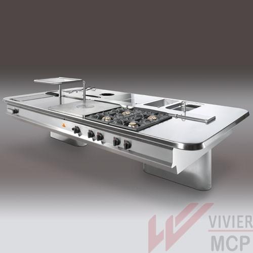 Ligne de cuisson professionnelle bertos lx900 vivier mcp for Cuisson professionnelle