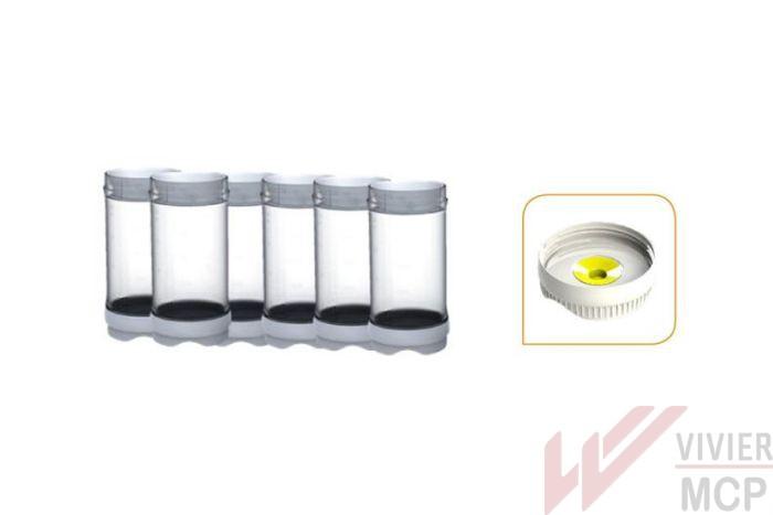 Lot de 6 bouteilles Fifo Portion pal 473 ml avec membrane 1 trou