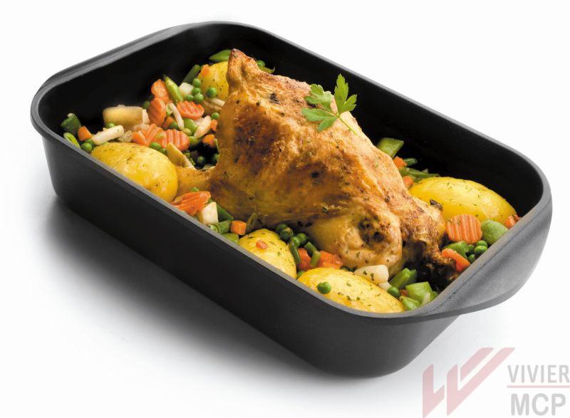 Plat de cuisson pour induction et four