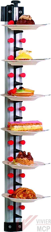 Porte assiettes mural pour 12 assiettes