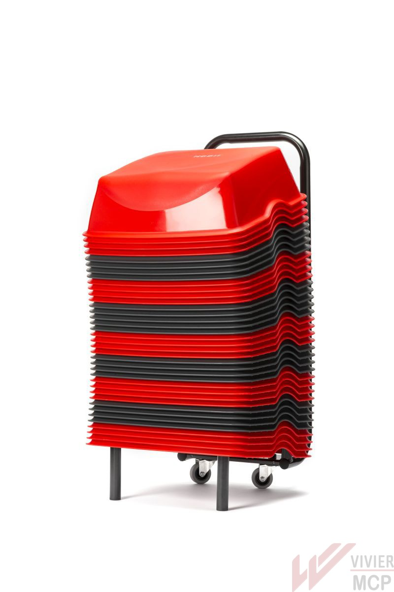 rehausseurs cin ma pour enfants rouge et gris vivier mcp. Black Bedroom Furniture Sets. Home Design Ideas