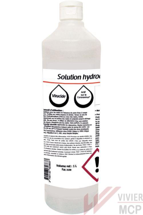Solution hydroalcoolique 100 ml