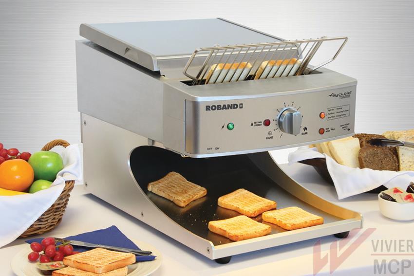 Toaster convoyeur haut de gamme professionnel Roband
