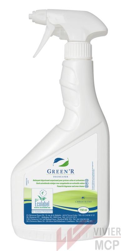 Dégraissant graisses carbonisées ecolabel - Vivier MCP