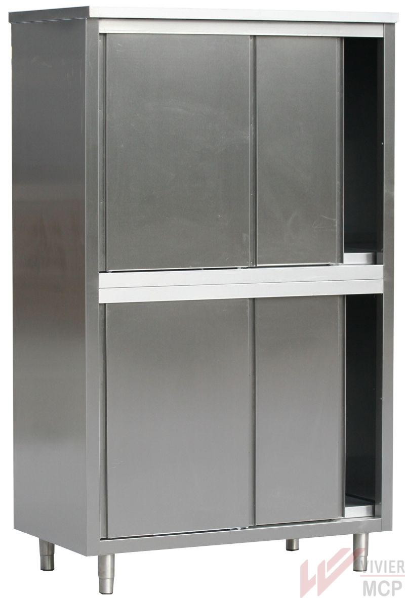 armoire de rangement inox pour cuisine | vivier mcp