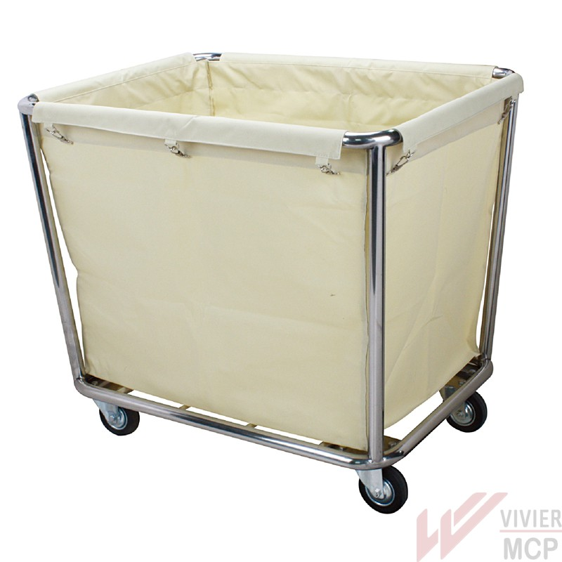 chariot de ramassage de linge sale vivier mcp. Black Bedroom Furniture Sets. Home Design Ideas