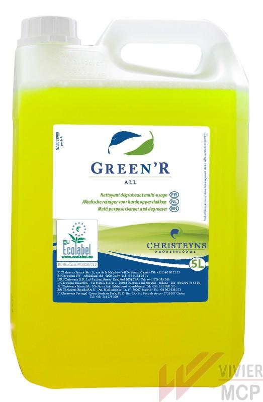 Green'r all dégraissant puissant, écologique en cuisine