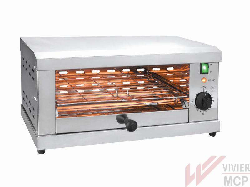 Grille pain électrique professionnel 1 niveau