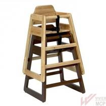 Chaise haute empilable pour restaurant