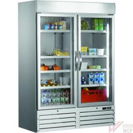 Armoire réfrigérée ventilée 2 portes