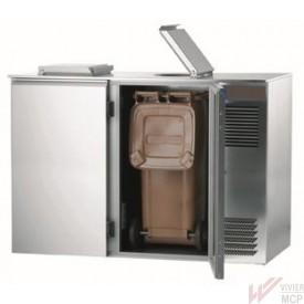 Conteneur de déchets réfrigérés