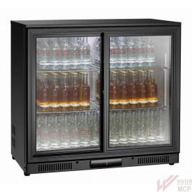 Arrière de comptoir réfrigéré à 2 portes coulissantes
