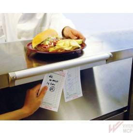Barre accroche tickets et notes restaurants 305 mm