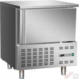 Cellule de refroidissement inox 3 bacs GN1/1 ou plateaux 600 X 400mm