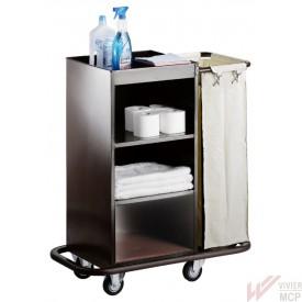 chariot de service hôtelier à 1 sac pour le service en chambre