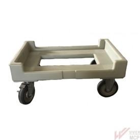 Chariot porte conteneur isotherme de transport
