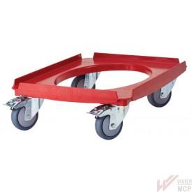 Chariot porte conteneur isotherme