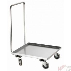 Chariot de transport pour paniers vaisselle