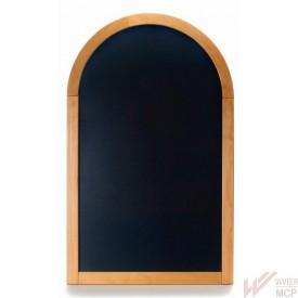 Chevalet porte menu mural semi circulaire à poser