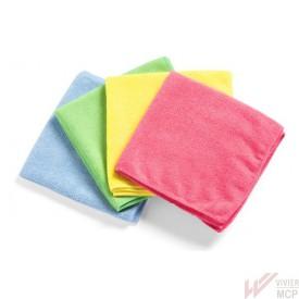 Chiffons microfibre professionnels code couleur