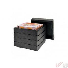 Conteneur isotherme spécial boîtes à pizzas chaudes