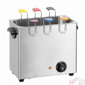 Cuiseur d'oeufs avec supports colorés