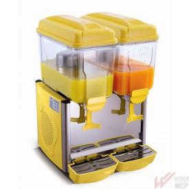 Distributeur de boissons fraîches 2 X 12 l jaune