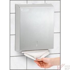 Distributeur inox pour serviettes pliées