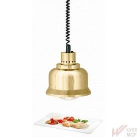 Lampe chauffante infrarouge doré brillant