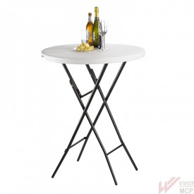 Table mange debout pliant