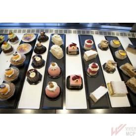 Plats de présentation vitrine pour pâtisserie, boulangerie, traiteur