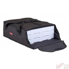 Sac isotherme pizzas noir - 3 boîtes à pizza de 45,7 cm