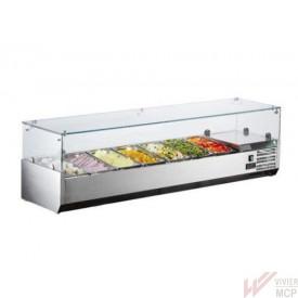 Saladette professionnelle à poser 1600 mm - Vivier MCP