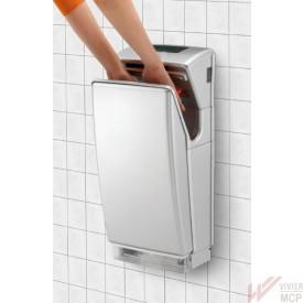Sèche mains à air pulsé hygiénique