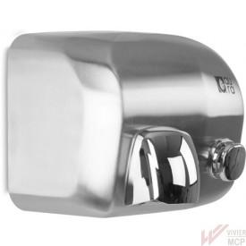Sèche mains inox professionnel à bouton