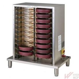 Système de mise en température pour plateau de distribution