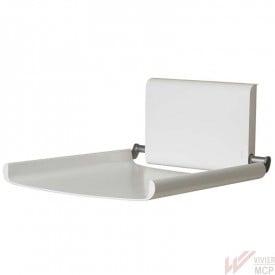 Table à langer murale verticale en aluminium blanc