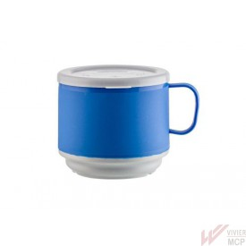 Tasse isotherme 250 ml bleu / gris