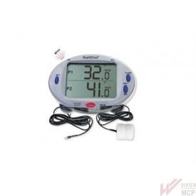 Thermomètre 2 zones froides et chaudes